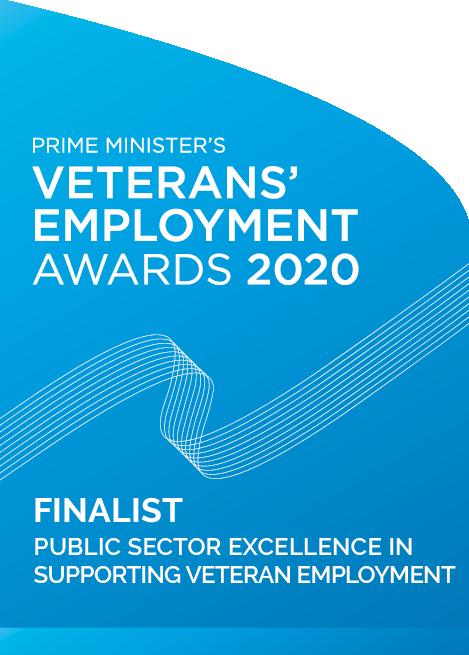 Prime Minister's Veterans' Employment Awards 2020