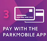 Pay with the Parkmobile APP
